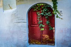 My Name Is Red III Rhodes, Greece by Anna Wacker on Artflakes