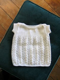 Baby merino 3 ply singlet. No pattern. Inspiration. Love this envelope neck and ribbed sleeves, and the pattern is so cute...