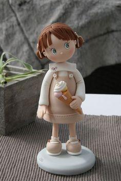 niña con helado