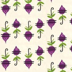 Purple Radishes fabric by htsvik on Spoonflower - custom fabric