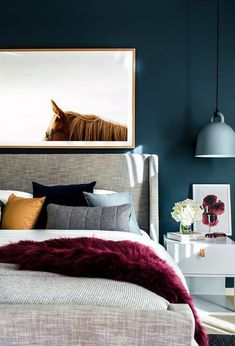 6 Smooth Tips AND Tricks: Contemporary Home Lighting contemporary design kitchen.Contemporary Home Bedroom contemporary bedroom rustic. Master Bedroom Design, Home Decor Bedroom, Bedroom Ideas, Bedroom Designs, Bedroom Inspiration, Bedroom Artwork, Headboard Ideas, Bedroom Images, Bedroom Lamps