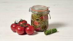 Haricots verts aux tomates en conserve