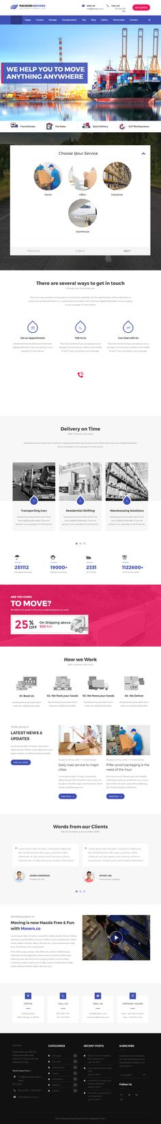 Packers & Movers is Premium Responsive Retina #WordPressTheme. Visual Composer. WooCommerce. If you like this #Transportation Theme visit our handpicked list of best #TransportationThemes at: http://www.responsivemiracle.com/best-wordpress-transportation-themes/