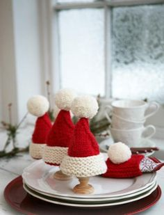 How adorable are these? Instructions in the free pattern pin.