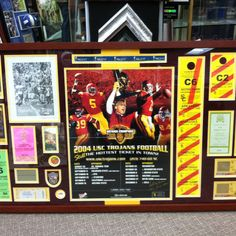 USC tickets display'