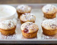 Strawberry Jam Muffins-3 (Replace strawberryjam for homemade goosberryjam)