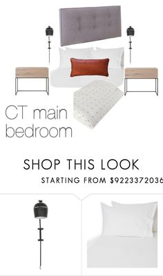 """""""CT bedroom"""" by aneke-1 on Polyvore featuring interior, interiors, interior design, home, home decor, interior decorating and bedroom"""