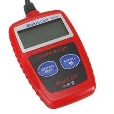 MS309 OBD2 EOBD Fault Code Reader Scanner Diagnostic Scan Reset Tool Sale - Banggood.com
