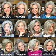 Transitioning to Gray Hair NEW Ways to Go Gray in 2020 - Hair Adviser grey hair going gray Dyed Blonde Hair, Brown Blonde Hair, Blue Hair, Lilac Hair, Pastel Hair, Green Hair, Brown To Blonde Hair Before And After, Pastel Pink, Grey Hair Care