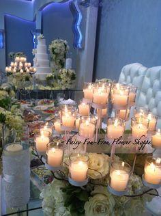 Metropole wedding #event, #couture, #modern, #white, #succulents #Fairy foufrou flower shoppe 2013