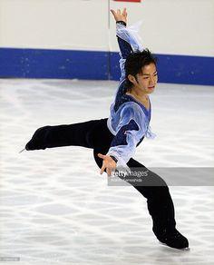 Daisuke Takahashi of Japan skates during the Men's Short Program during the World Figure Skating Championships at the Tokyo Gymnasium on March 21, 2007 in Tokyo, Japan.
