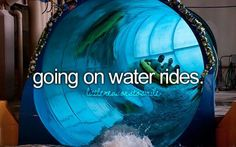 Water slides are life