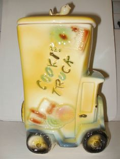 Vintage Cookie Truck Cookie Jar  THRILLED to only pay $40.00 for!!!