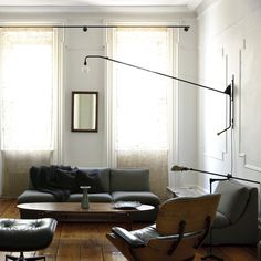 Iconist Jean Prouvé's Potence wall mounted lamp from Vitra