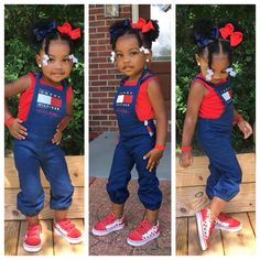 For Kids Fashion Hair Styles, Toddler Braided Hairstyles, Lil Girl Hairstyles, Cute Hairstyles For Kids, Natural Hairstyles, Baby Outfits, Cute Little Girls Outfits, Kids Outfits, Black Baby Girls, Cute Black Babies