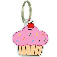 Placa de Identificação Acrílica Cupcake na AZ PetShop