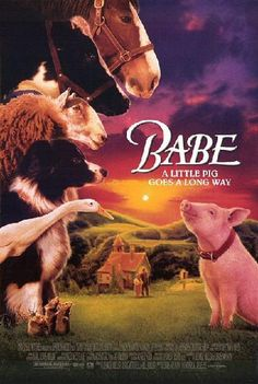 Babe was nominated for best picture and best supporting actor (James Cromwell) in 1995 and won the Golden Globe for best picture-musical or comedy