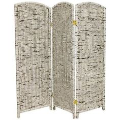 @Overstock - This lightweight room divider will help you rearrange your living space. Use it to add privacy in shared bedrooms or to set aside a work area. Made from recycled materials, this shade will bring a touch of the Orient into your home. http://www.overstock.com/Worldstock-Fair-Trade/Recycled-Newspaper-4-foot-Tall-Room-Divider-China/6345264/product.html?CID=214117 $107.00