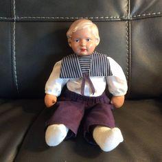 Schildkrot colloid turtle marked German doll by grammypetals on Etsy