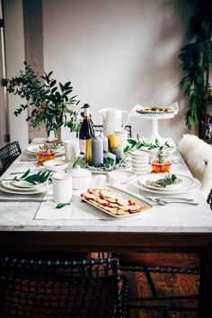 overnight eggnog waffles + a holiday brunch - hummingbird high || a desserts and baking blog