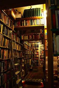 I want a lazy fall day to wander around this place...edinburgh book shops