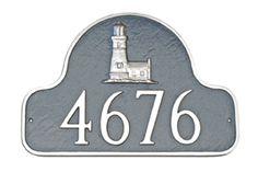 Lighthouse Arch Address Plaque