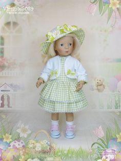"""tenue outfit pour poupée Minouche 34cm 13"""" (#001)"""