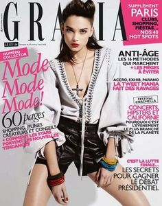 Grazia France May 2012 Tayane Leão Melo