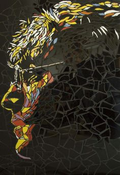 Mosaic artwork shows off famous faces like you've never seen them before   Creative Boom Blog   Art, Design, Creativity