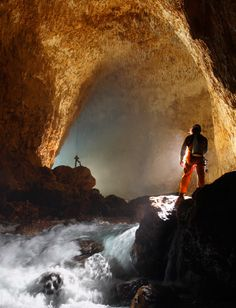 Ora Cave - Papua New Guinea by Steven Alvarez ... so many caves waiting to be explored!