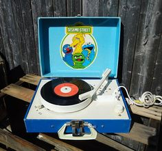 1981 Sesame Street Record Player