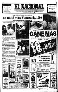 Se mató Maye Brandt. Publicado el 3 de octubre de 1982.