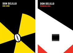 Don Delillo covers by Noma Bar.
