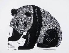 Image result for ocean lino print