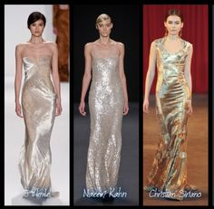 Great Gastby-Art Deco New York Fashion Week 2013 bridal inspirations.