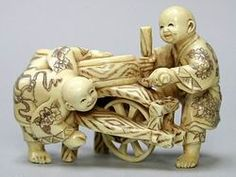 International Arts and Crafts -- Page 12 mammoth and hippo ivory carvings, netsuke, jewelry