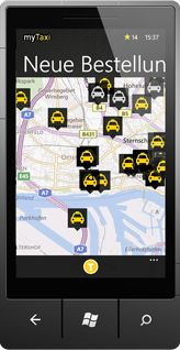 Nice app when you need a taxi!