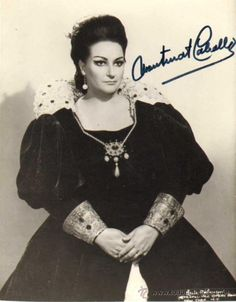Caballe's cello-like voice was a marvel, the gleaming high notes, the superlative musical instincts, the amazing breath control and, especially, the exquisite pianissimos that made her a treasure of a now-bygone era.(550×705)