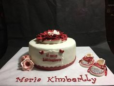 Il battesimo di Maria Kimberlly in bianco e rosso