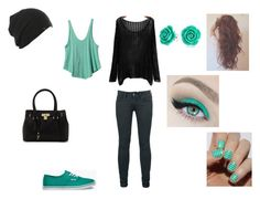 """""""Untitled #1"""" by ashleycat20 ❤ liked on Polyvore featuring moda, RVCA, Vans, ALDO e Bling Jewelry"""