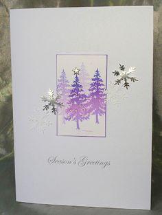 40. Handcrafted Christmas card #handmade #Christmas