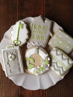 Cookies for a housewarming party