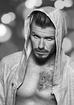David Beckham Celebrates the Holidays with a New H Campaign for His Bodywear Line