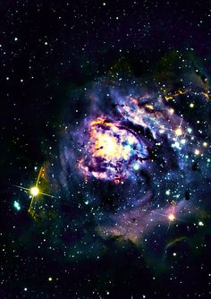 """The Lagoon Nebula #8 of Charles Messier's """"not a comet"""" list, the Lagoon Nebula is a cloud of ionized hydrogen estimated to be 4000-6000 light years from earth. It can be seen with the naked eye as a gray/green patch in the constellation of Sagittarius. PHOTOGRAPHER: Chuck Manges"""