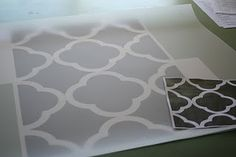 quatrefoil stencil FREE download! awesome