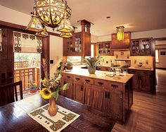 Arts & Crafts Revival Style Kitchens — Arts & Crafts Homes and the Revival