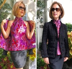 Kwik Sew perfect top under a Chanel-style jacket Sewing Patterns, Sewing Ideas, Sewing Projects, Diy Projects, Chanel Style Jacket, Kwik Sew, Long Sleeve Maxi, Chanel Fashion, Jacket Pattern