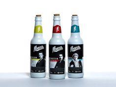 Historical Figure Beer Branding : Abacus Ale