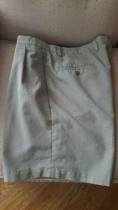 491044c7b2 Claiborne khaki men's shorts size 38 polyester/rayon excellent condition  #fashion #clothing #