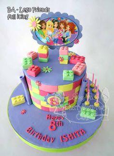 torta lego friends - Buscar con Google